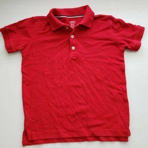 French Toast Boys Red Short Sleeve Polo Shirt 8